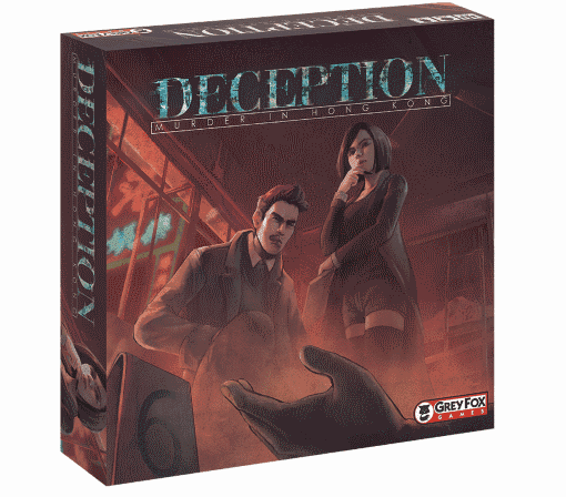 Deceptions is a great choice for family oriented tabletop games if suspense is your thing