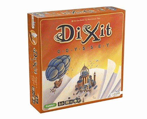 Dixit is a highly visual board game for parties that enjoy charades and guessing