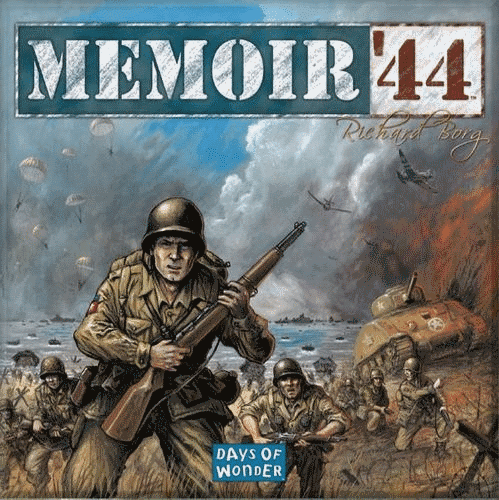Memoir '44 is one of the best world war 2 board games ever released.