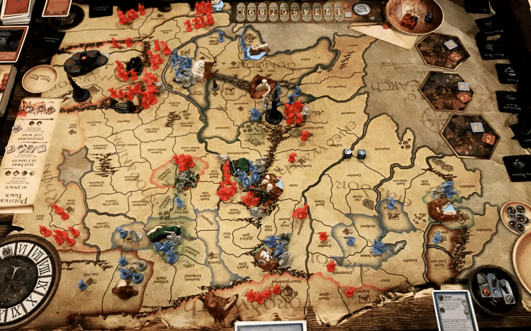 Wondering what are the best war games board games on the market? Rising Sun is sure to be one of them.