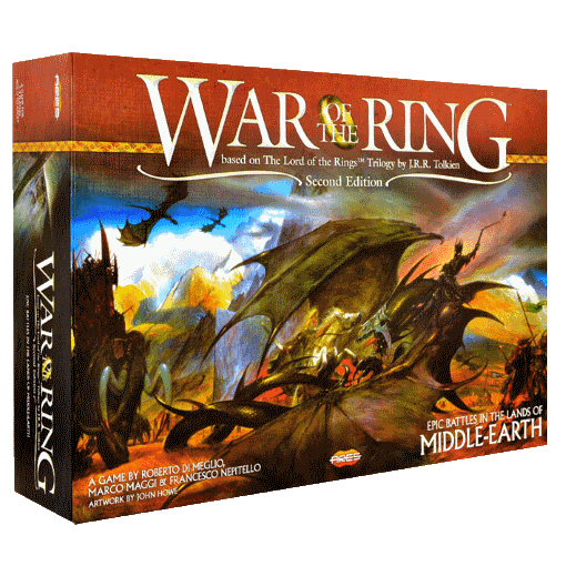 If you are after some classic set of key features that make the best classic war board games - War of the Ring is one of them.