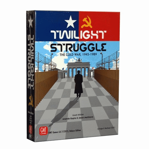 Not only was Twilight Struggle the best war game around, it was the best war board games of all time for 5 years straight, according to BGG.