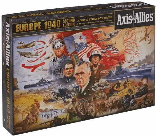 If you are looking for the best world war 2 board games - AA Europe 1941 is a must to check.