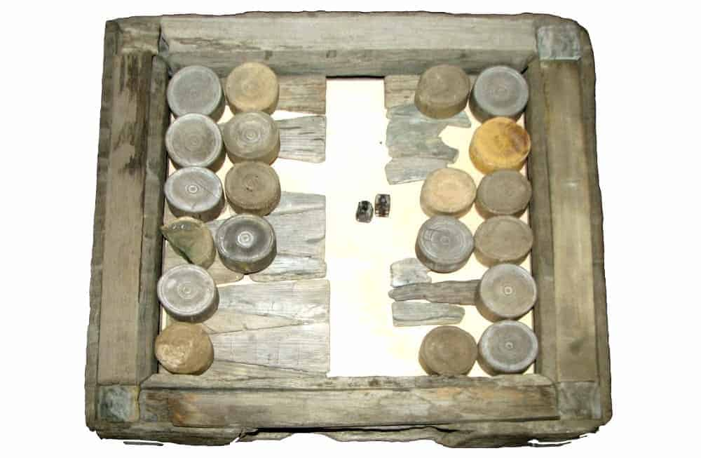 backgammon originated in old mesopotamia which is modern day iraq