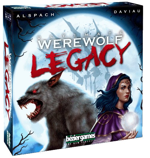 Werewolves Legacy - the ultimate legacy party board game