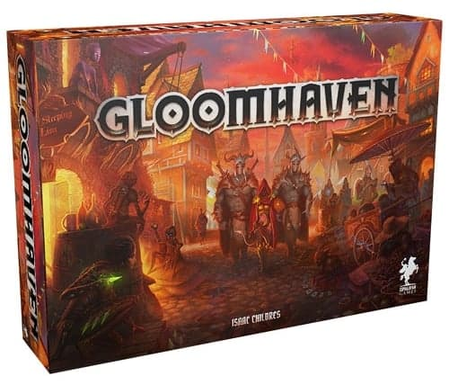 Gloomhaven is not only one of the best legacy board games around - according to BGG it is the best board game in the world!