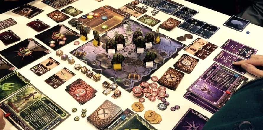 Although Gloomhaven is amongst the top single player legacy board games out there, it is better enjoyed in a consistent company of friends.