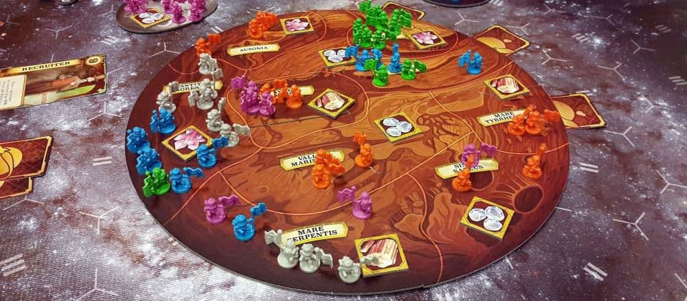 First Martians: Adventures on the Red Planet is topping our legacy board games list for those who would like to take the game on his own.