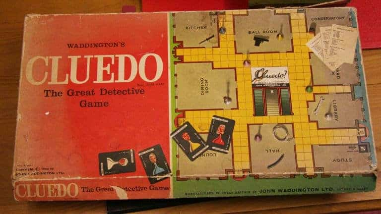 game cluedo is modern invention about finding out who, where and with what has committed a crime