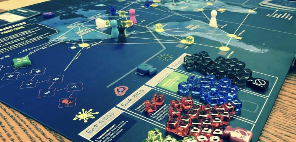 Pandemic Legacy is currently on of the most modern board games on the market with current game mechanics and up to date design