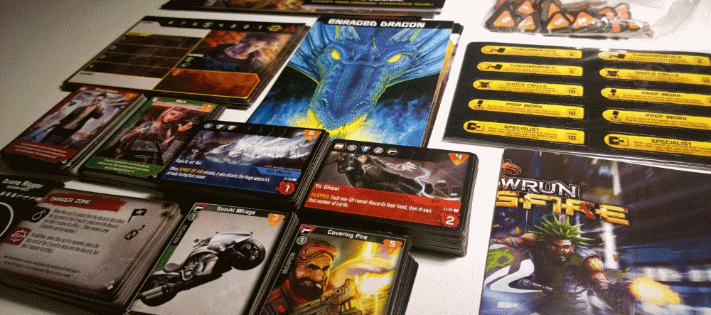 Shadowrun Crossfire is one of the oldest and most popular legacy board games we've played