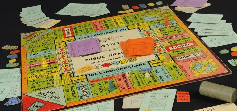 Magie invented board games and the board game monopoly is over 100 years old now!