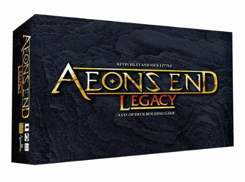 Aeon's End is the best legacy board games for 2 players or couples