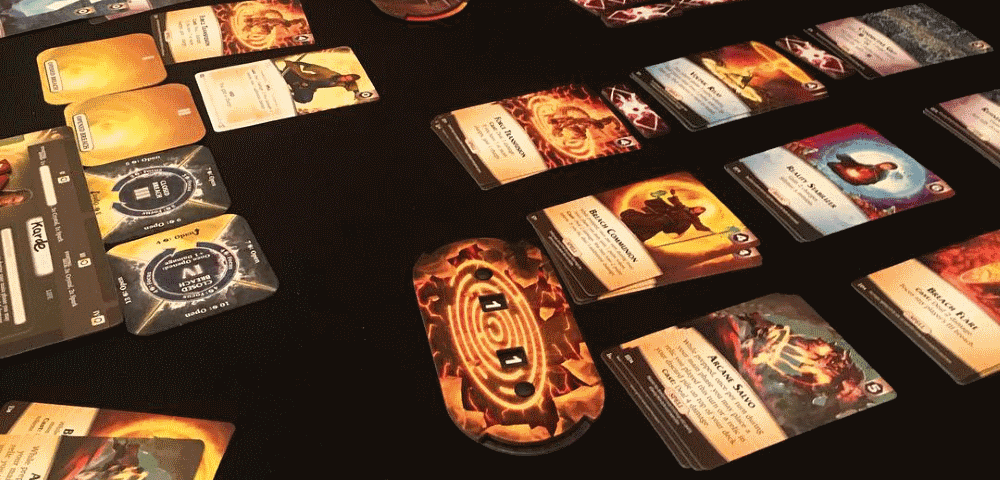 Aeon's End is the latest legacy board game, but keep you eyes open for upcoming legacy board games in the same series!