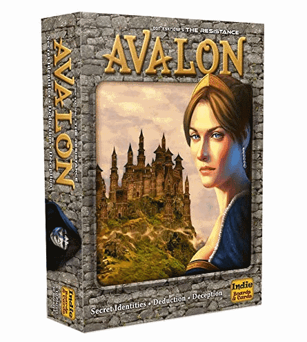 Resistance Avalon is a top party tabletop game if your group enjoys secret identities