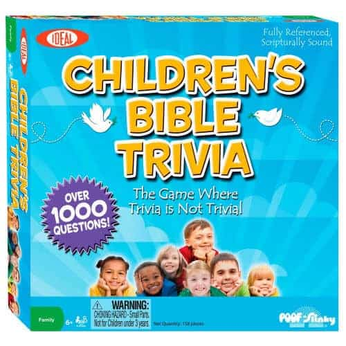 One of the best bible trivia board games for children out there