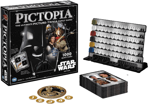 Searching for a Star Wars trivia? Look no further - Pictopia has one for you!