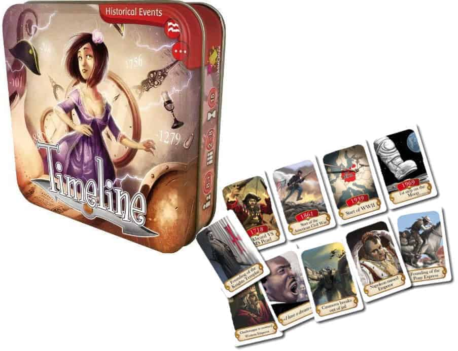 Timeline has introduced a fresh lineup of new trivia board games to the market.