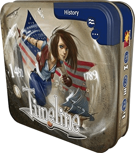 Timeline - american history trivia tabletop game