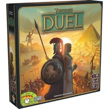 7 Wonders Duels is one of the top light strategy games you can enjoy with your partner.