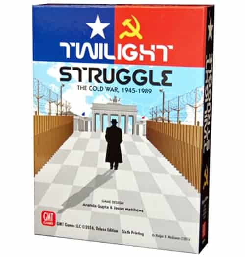 Twilight Struggle one of the best strategy games for couples ever made