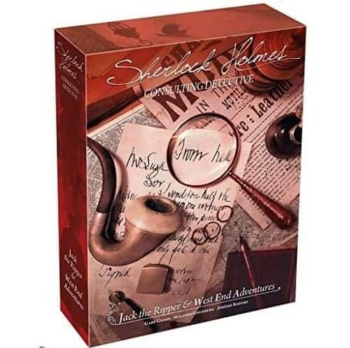 Sherlock Holmes Consulting Detective is a perfect investigation tabletop game for couples.