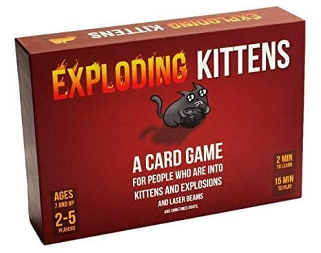 Exploding Kittens is the most funded card game on Kickstarter and an extremely popular game on Amazon