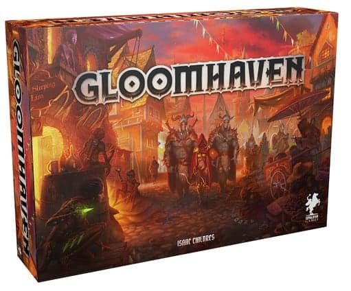 Gloomhaven base game is one of the most expensive board game Kickstarter has brought to life