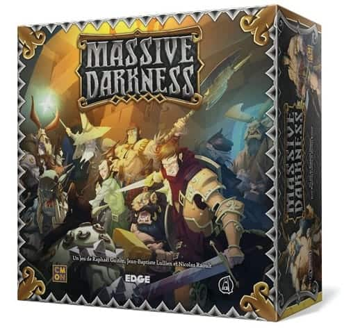 Massive Darkness is an amazing fantasy themed dungeon crawler t
