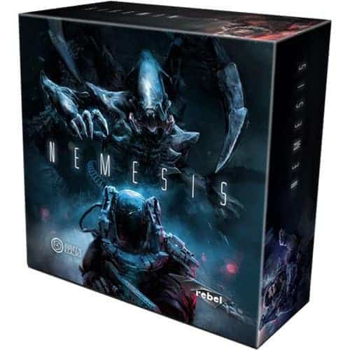 Nemesis is one of not many kickstarter board games based on a Sci-Fi theme and story