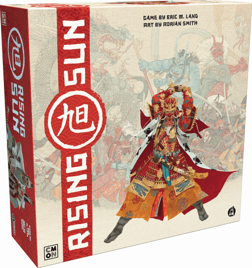 Rising Sun features a fine art of diplomacy and war only the greatest Kickstarter board games can deliver