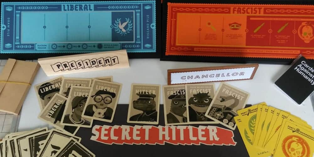 Decide the fate of humanity and support a Liberal or Fascist party with Secret Hitler