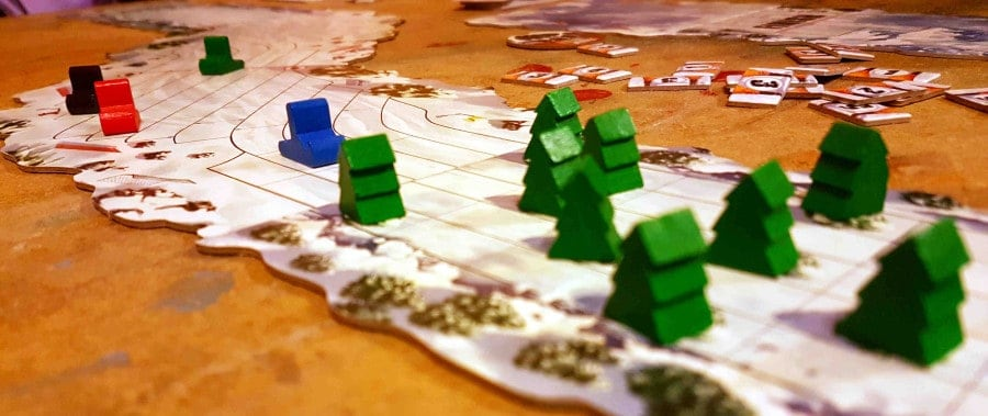 If you are after a family board game, pick Snow Tails over Monopoly of any edition.