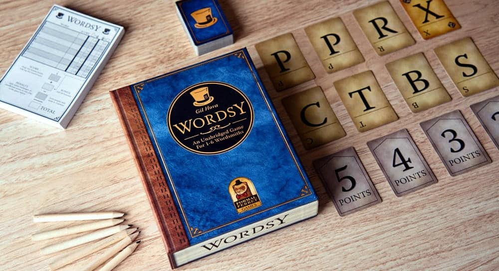 Amongs all Xmas board game products - Wordsy is a better replacement for Scrabble.