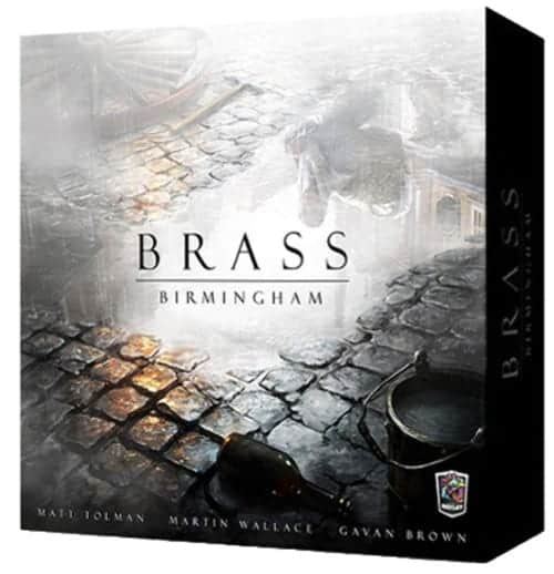 Brass Birmingham is our favorite economic grid and user board game