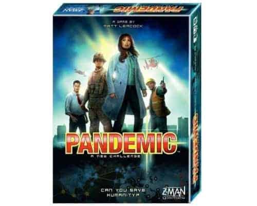 Pandemic by z-man games is one of the classic coop strategies out there