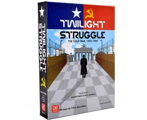 Twilight Struggle is the latest and our favorite 2 person version of the game