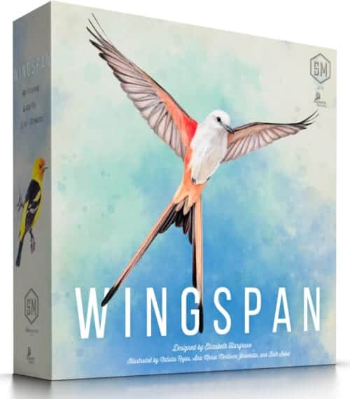 Wingspan Game from the Stonemaier Games is a modern take on clever and difficult features.
