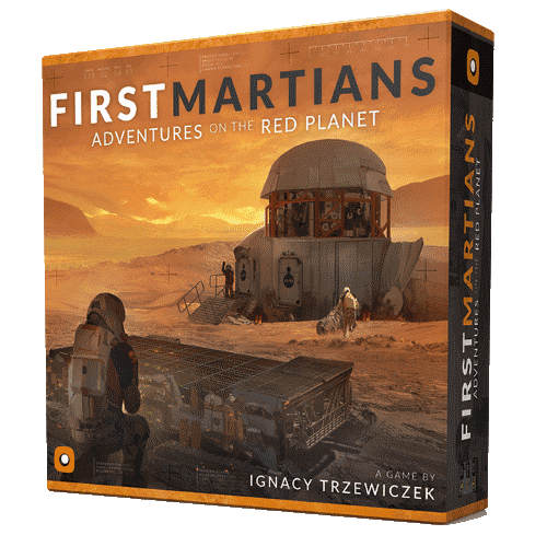 First Martians: Adventures on the Red Planet is amongst the best solo legacy board games you can buy
